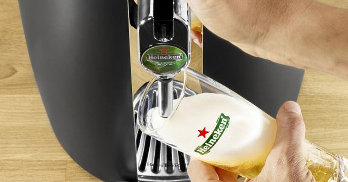 Une tireuse à bière pour la fête des pères